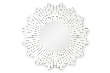 Large Facet Wheel Mirror