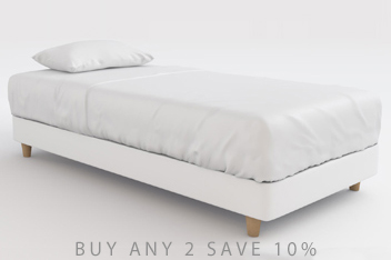 Contemporary White Divan