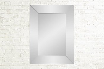 Single Bevel Large Mirror
