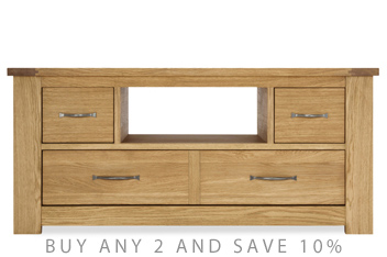 Cambridge® Light Corner TV Unit