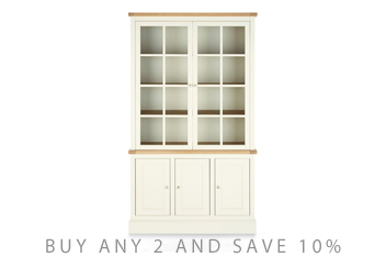 Shaftesbury Painted Glazed Display Unit