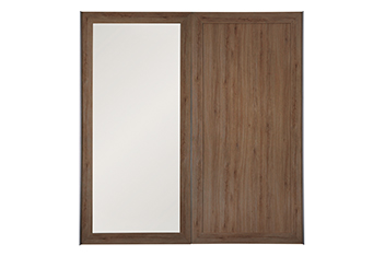 2M Sliding Mirrored Door
