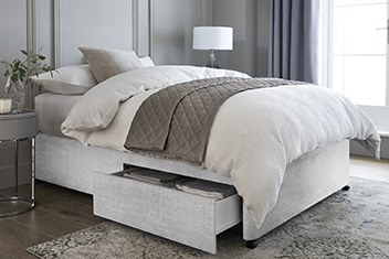 Buy white beds adult bedroom furniture from the next uk for White divan bed base