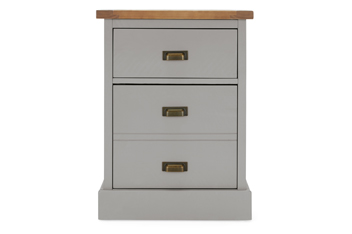 Shoreditch® Grey Bedside Table