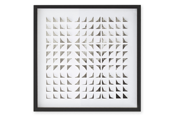 3D Geometric Framed Picture