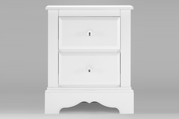 Isabella® White Painted Bedside Table