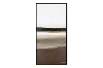Set Of 2 Framed Abstracts
