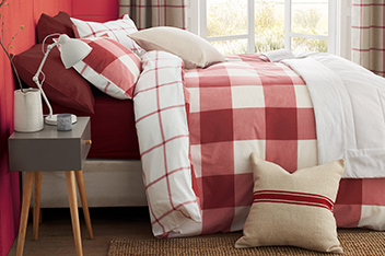 Windowpane Check Bedset