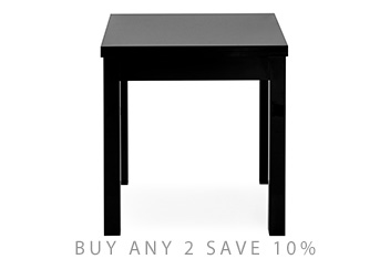 Gloss Square To Rectangle Dining Table