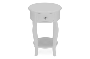 Bedside Tables Chests Small Mirrored Bedside Tables Next - White round bedside table