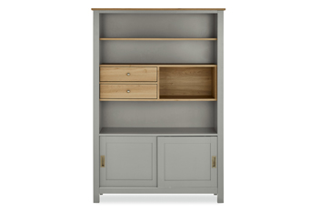 Stanton® Grey Display Cabinet