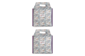 Set Of 2 Little Blossom Fabric Storage