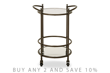 Hardwick Metal Drinks Trolley
