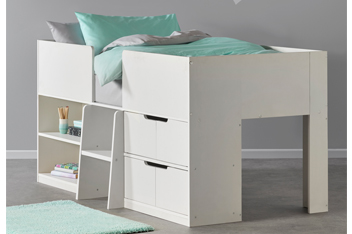 Compton Grey Cabin Bed