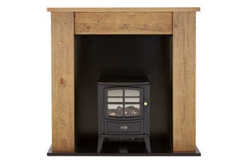 Kendall Suite Surround With Brayford Electric Stove By Dimplex