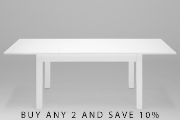Extending Gloss Dining Table