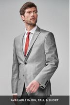 Light Grey Regular Fit Suit
