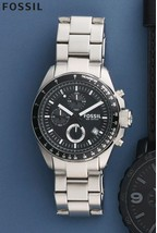 Fossil® Decker Stainless Steel Chronograph Watch