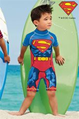 Keep them protected whilst they're having fun with our selection of kids' sun protection swimwear. From long-sleeved vests and swimsuits to stylish caps and cover-ups, our sun protection for kids' range is available in a variety of funky colours and prints.