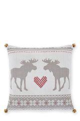 Moose Print Cushion