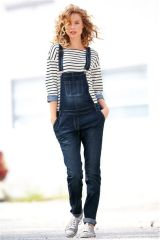 Inky Wash Denim Dungarees (898197X53) | £35