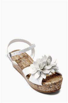 White Flower Wedges (Older Girls)