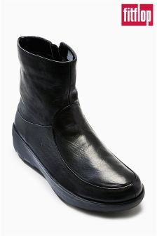 FitFlop™ Black Short Boots