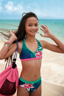 Tropical Print Bikini (3-16yrs)