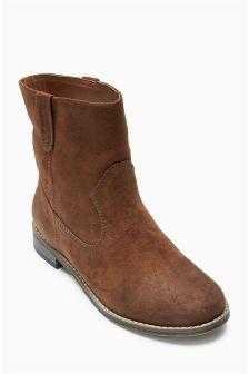Western Ankle Boots (Older Girls)