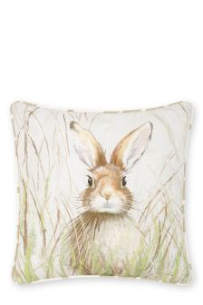 Painted Hare Cushion