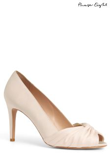 Phase Eight Cameo Minnie Knot Front Peep Toe Shoes