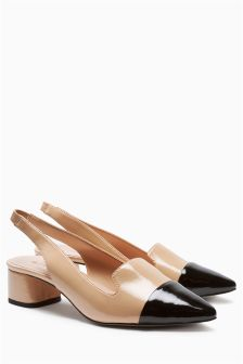 Slingback Pointed Shoes