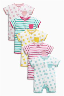 Rompers Five Pack (0mths-2yrs)