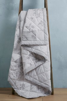 Patchwork Quilted Throw