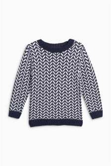 Chevron Jumper (3mths-6yrs)
