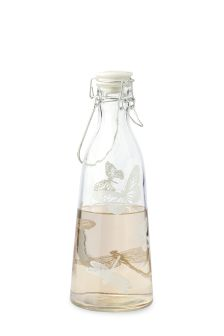 Butterfly Glass Water Bottle