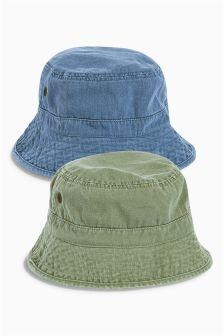 Fisherman Hats Two Pack (Older Boys)