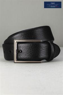 Black Signature Italian Leather Belt