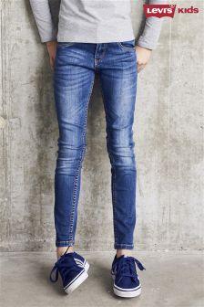 Levi's® 711 Blue Mid Wash Skinny Jean