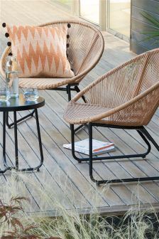 Tea For Two Natural Bistro Set