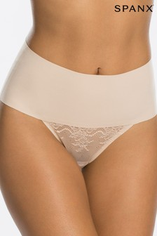 Spanx® Undie-tectable Smooth Lace Thong