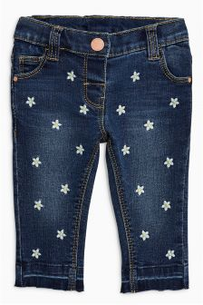 Daisy Embellished Jeans (3mths-6yrs)