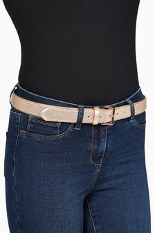 Shimmer PU Belt