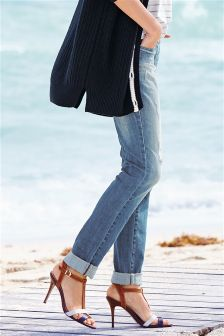 Relaxed Cigarette Jeans