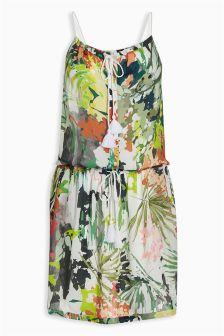Jungle Print Dress