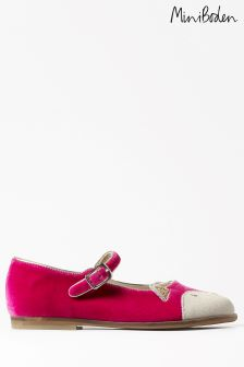 Boden Pink Party Mary Janes