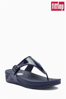 Navy Fitflop™ Super Jelly Toe Post