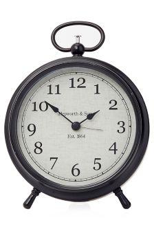 Metal Cased Mantel Clock