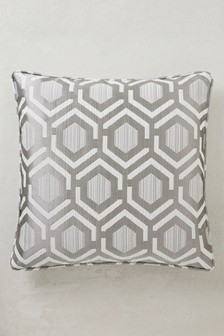 Geo Jacquard Studio Cushion