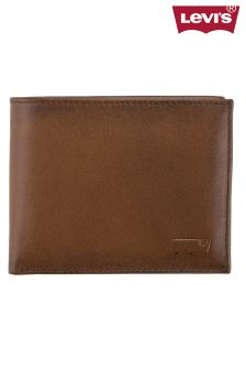 Brown Levi's® Bifold Wallet